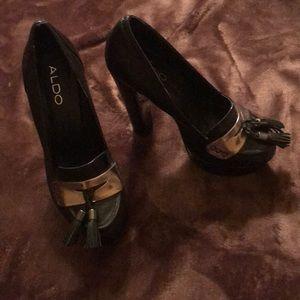 ALDO Black Heels- 🆕 Excellent & Stunning Heels